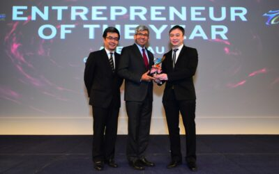 Anacle CEO, Alex Lau wins 2017 Entrepreneur of the Year Award